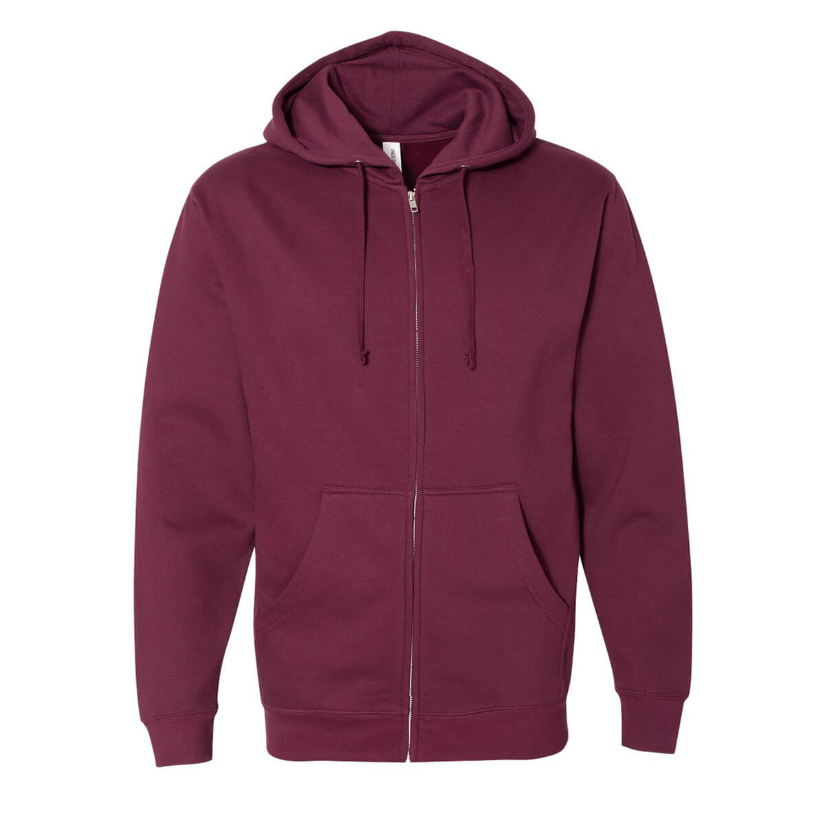 Independent Trading Midweight Full-Zip Hoodie